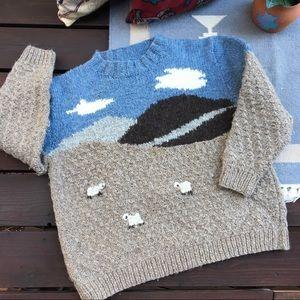Vintage Chunky Knit Oversize Sweater